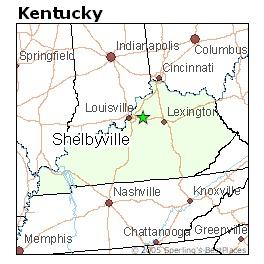 Living in Shelbyville, Kentucky