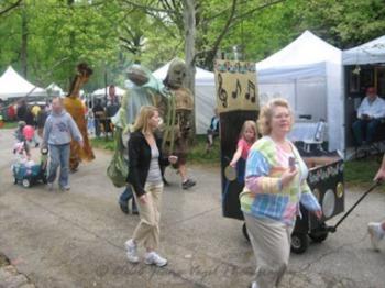 Cherokee Triangle Art Fair April 27th and 28th
