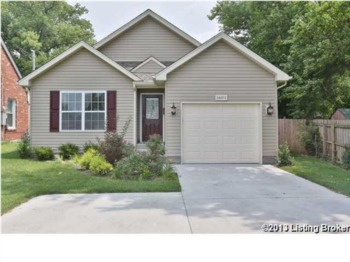 Home for Sale 1601 Military Avenue Louisville, KY 40242