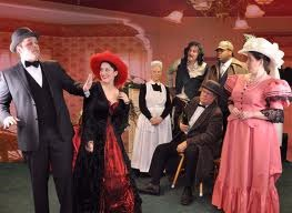 WhoDunnit Murder Mystery Dinner Theater Presents Murder at the Queen's Table