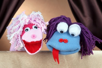Let Kids Make Puppets at Summer Camp June 15 - 19