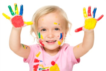 Try Finger Painting August 22 and 23