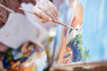 See the Art at St. James Court October 2 - 4