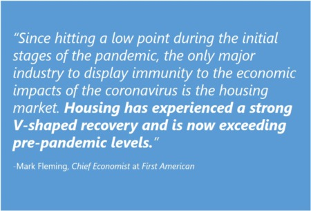 Housing Market on Track to Beat Last Year's Success