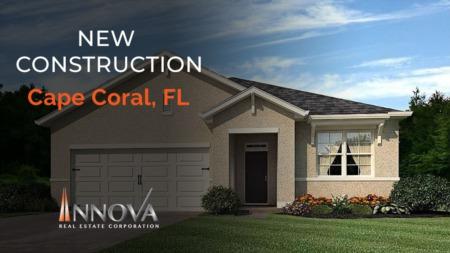 Futuros dueños visitando nueva construcción en Cape Coral, FL (Giselle Fuentes, Realtor®)