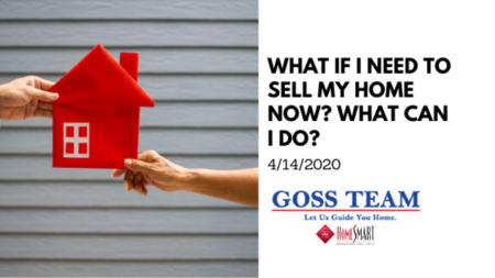 What If I Need to Sell My Home Now? What Can I Do?