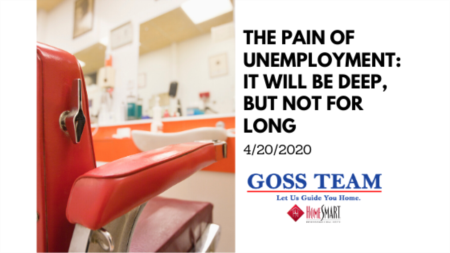The Pain of Unemployment: It Will Be Deep, But Not for Long
