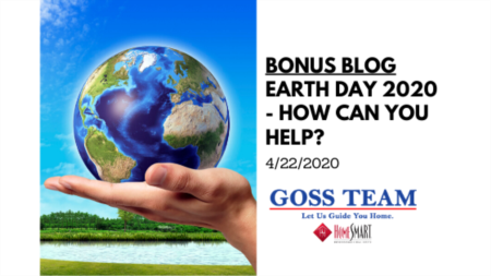 Earth Day 2020 - How can you help?
