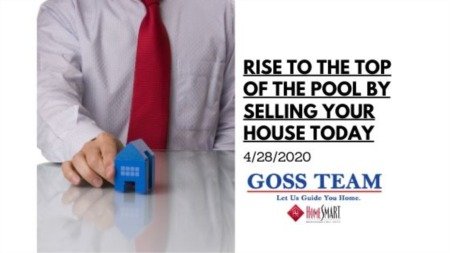 Rise to the Top of the Pool by Selling Your House Today