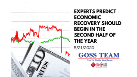 Experts Predict Economic Recovery Should Begin in the Second Half of the Year