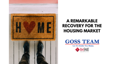 A Remarkable Recovery for the Housing Market