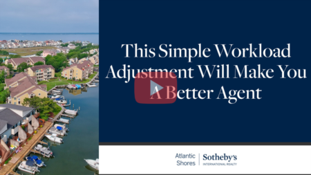 This Simple Workload Adjustment Will Make You a Better Agent