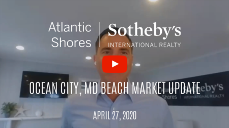 Housing market update in OCMD for the week of 4/27/20 with Ryan Haley of Atlantic Shores Sotheby's International Realty