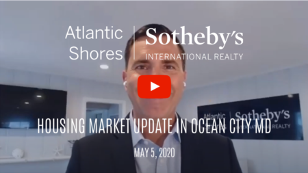 Housing market update in OCMD for the week of 5/5/20 with Ryan Haley of Atlantic Shores Sotheby's International Realty