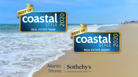 "The Haley Group Voted Best Real Estate Team, Ryan Haley as Best Real Estate Agent at ""Best of Worcester County 2020"" by Coastal Style Magazine"