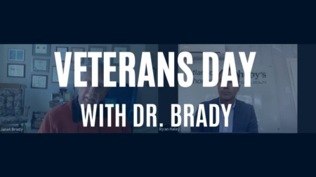 Veteran's Day Featuring Dr. Brady