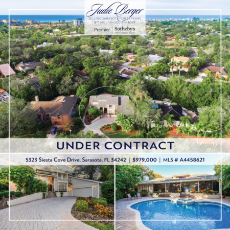Under Contract! 5323 Siesta Cove Drive, Siesta Key