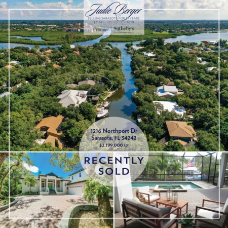 Recently Sold Near Siesta Beach: Deep Sailboat Water with Direct Bay Access