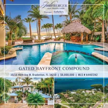 Featured Property: Gated Family Compound on Boating Water