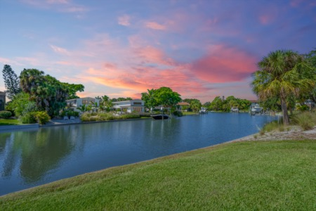 Featured Property: Full Sunset Views & Deep Boating Water Near Siesta Beach