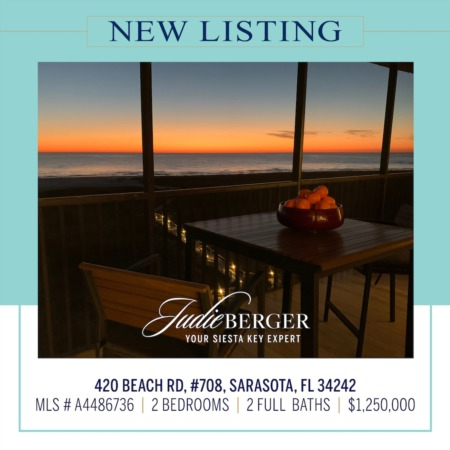New Listing: Endless Views of the Beach and Gulf of Mexico