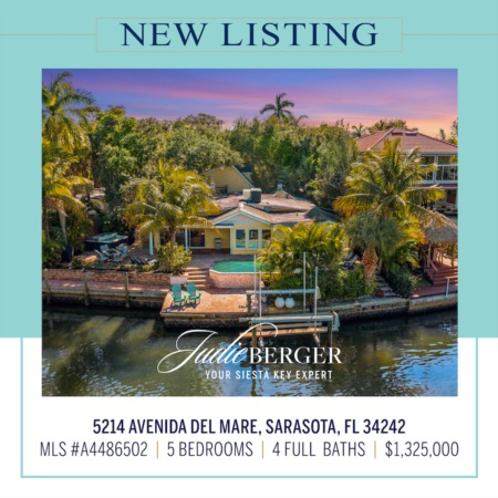 New Listing: Boating Water Direct to the Bay and Just 3 Blocks to the Beach