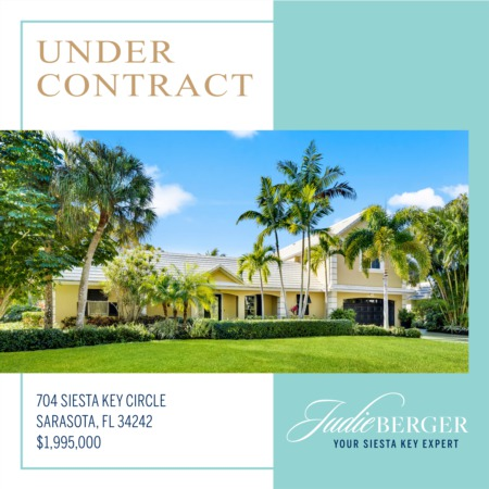 Under Contract on Siesta Key