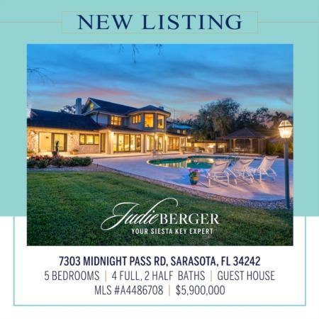 New Listing: Extraordinary 2.5-Acre Gated Estate on Sarasota Bay