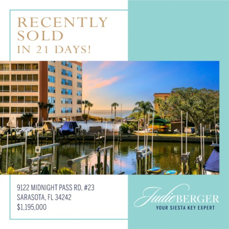 Recently Sold: Luxury Waterfront Condo with Boat Slip and Gulf Views