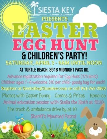 Siesta Key Easter Egg Hunt