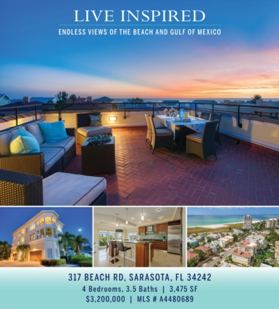 LIVE INSPIRED: Endless Views of the Beach and Gulf of Mexico