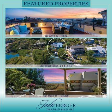 Sunday on Siesta Key: Featured Properties of the Day