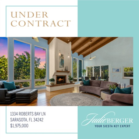 Siesta Key Waterfront Under Contract