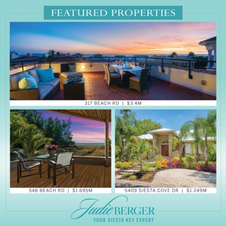 Featured Properties: Find Your Island Dream Home on Siesta Key