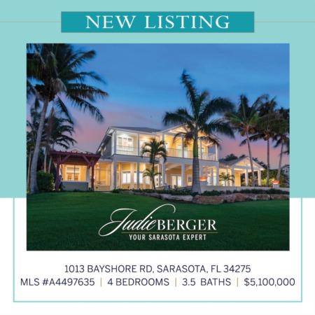New Listing: Private Coastal Estate on Little Sarasota Bay