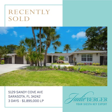 Recently Sold: Boating Water on Siesta Key