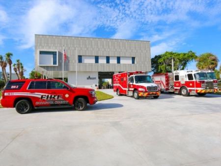 New Fire Station Opens on Siesta Key