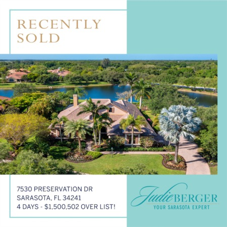 Recently Sold Over List Price in Sarasota!