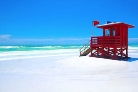 Siesta Key Named One of the 10 Best Beach Towns