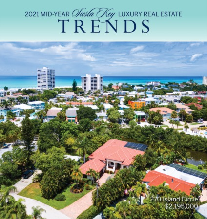 Siesta Key Mid-Year 2021 Market Update: Robust Demand Continues At All Price Points