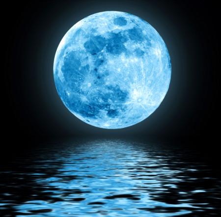 Look Up! Full Blue Moon This Weekend