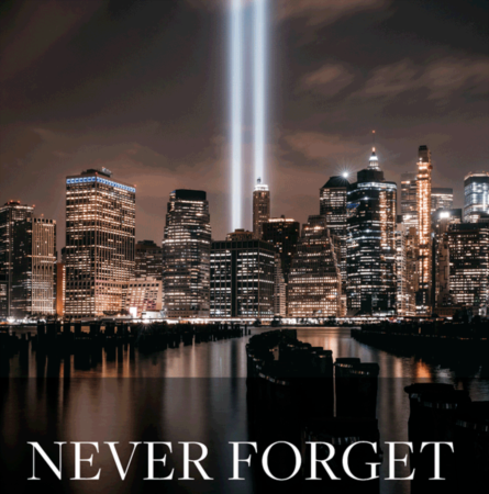 We will never forget - 9/11/01