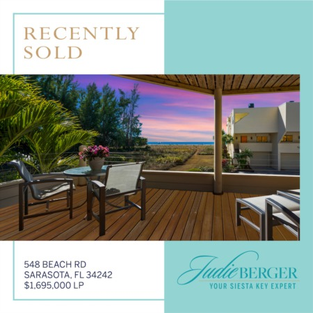 Recently Sold on Siesta Key