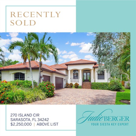 Recently Sold on Siesta Key Over List Price!