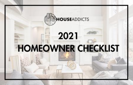 2021 Homeowner Checklist