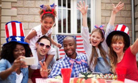 A Festive Backyard Fourth