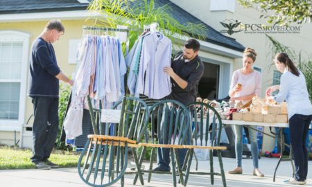 Facing a PCS Move Later This Year? Host A Summertime Yard Sale