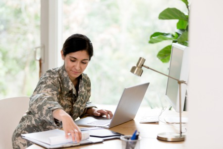 Resources for Veterans Re-Entering the Workforce