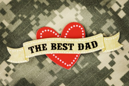 Celebrating Military Fathers!