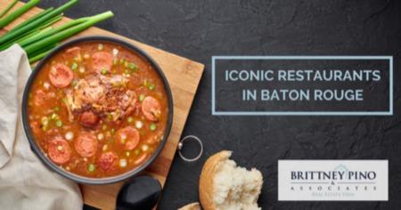 Iconic Restaurants in Baton Rouge
